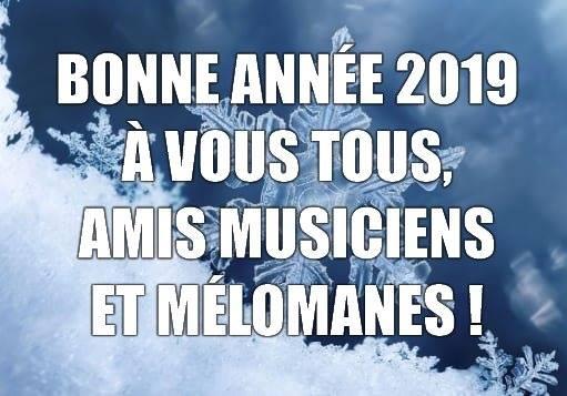 Bonne année musicale