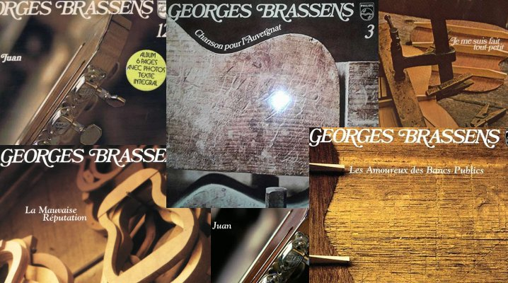 Georges Brassens - Partitions