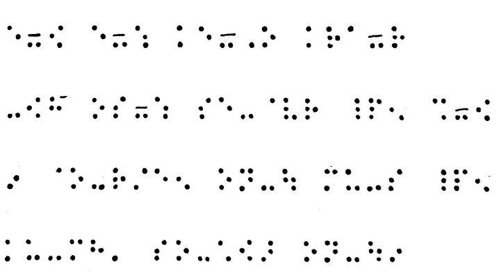 La notation musicale en braille
