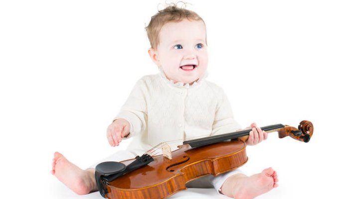 Les bébés violonistes