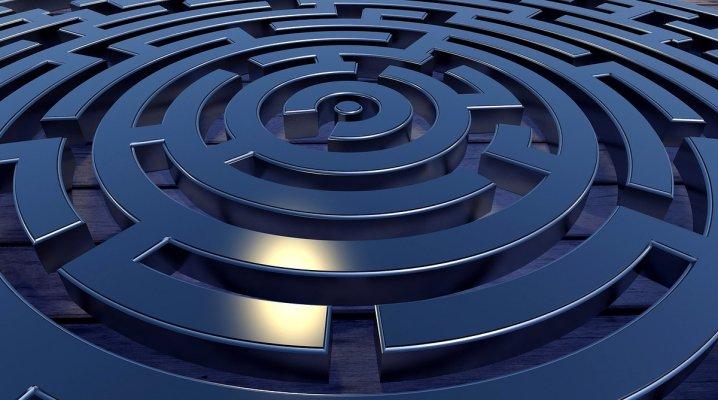Les partitions labyrinthe
