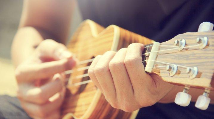 Blagues musicales, le ukulélé