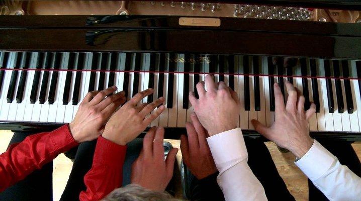 Partitions pour piano à 6 mains