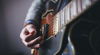 Guitariste professionnel