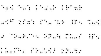La notation musicale en braille