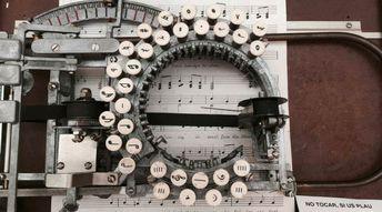 Les machines à écrire musicales