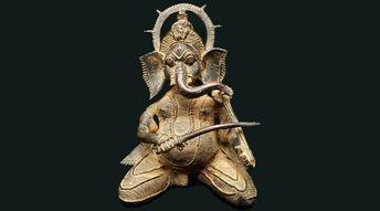 Musique et art tribal en Inde