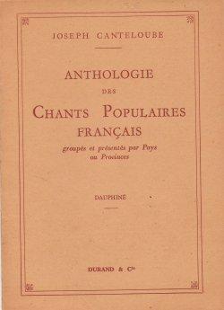 Chant populaires français. Dauphiné