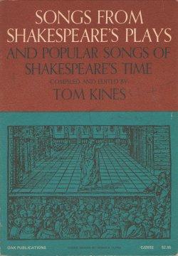 Chansons des pièces de Shakespeare