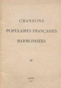 Chansons populaires harmonisées. Joseph Samson