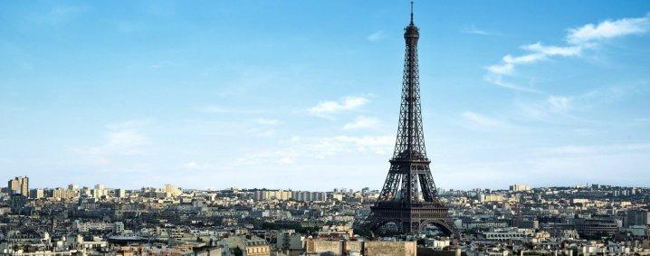 La ville de Paris et la tour Eiffel