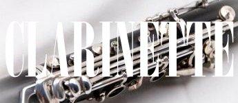 Partitions pour clarinette