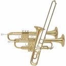 deux trompettes et trombone