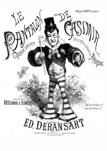 Le pantalon de Casimir Partition gratuite