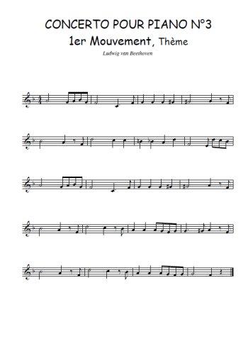 Concerto pour piano N°3, Ier mouvement Partition gratuite