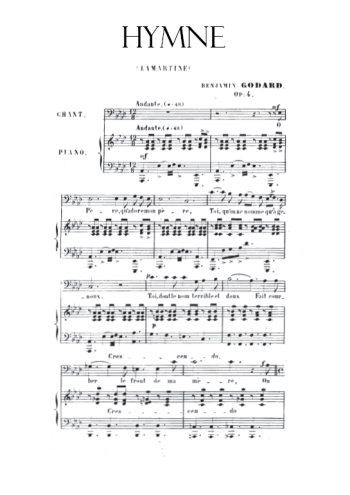 Hymne Partition gratuite