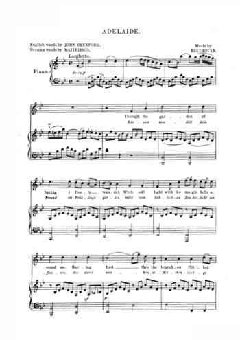 Chansons pour ténor Partition gratuite