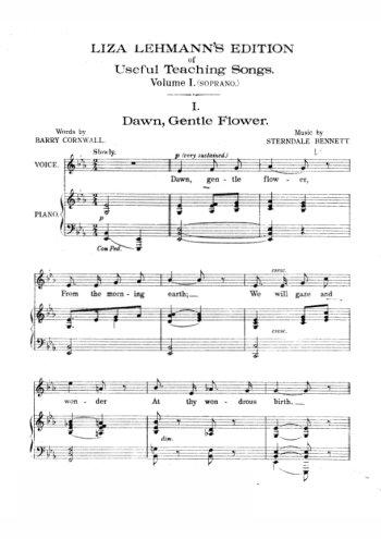 Chants pour soprano Partition gratuite