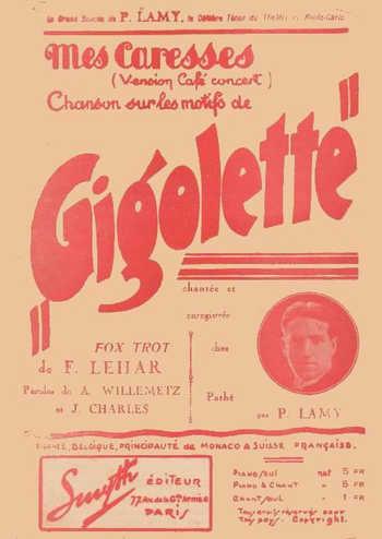 Gigolette Partition gratuite