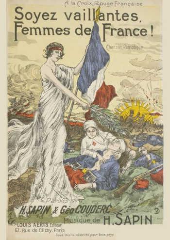 Soyez vaillantes, Femmes de France Partition gratuite