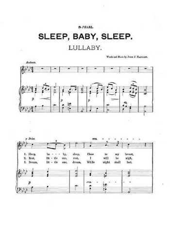 Sleep Baby Sleep Partition gratuite