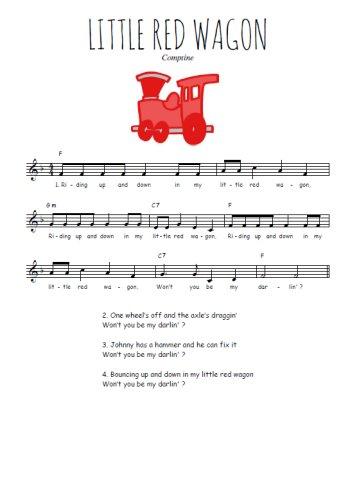 Little red wagon Partition gratuite