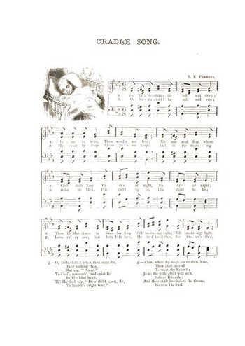 Cradle song Partition gratuite
