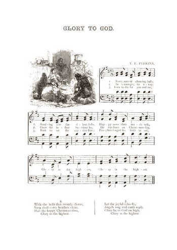 Music for the nursery Glory to God Partition gratuite