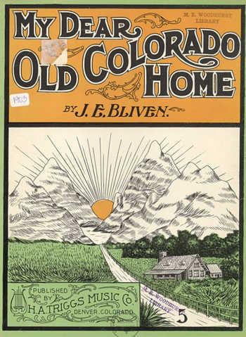 My dear old Colorado home Partition gratuite