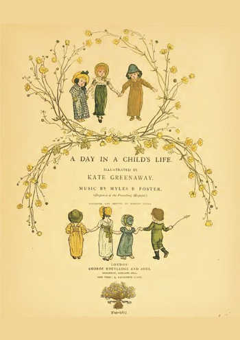 A day in child's life Partition gratuite