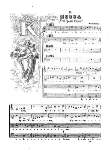 Missa Veni Sponsa Christi 1. Kyrie Partition gratuite