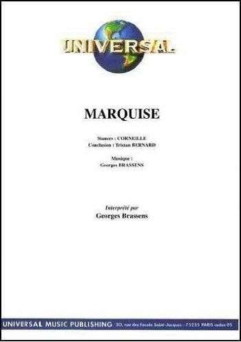 Marquise, chant et piano