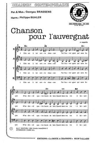 Chanson pour l'Auvergnat