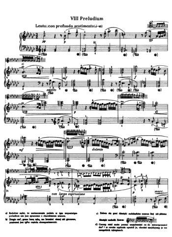Clavier bien tempéré, prélude et fugue N°8 en Mib mineur Partition gratuite