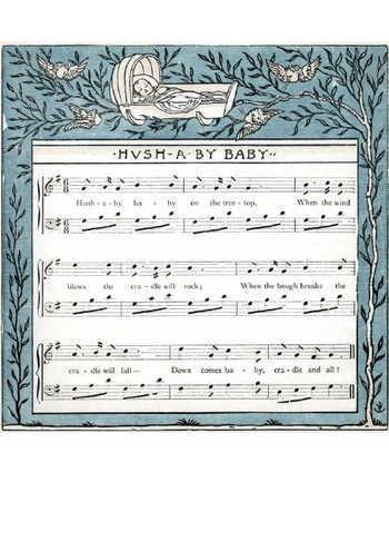 Hush-a-bye baby Partition gratuite