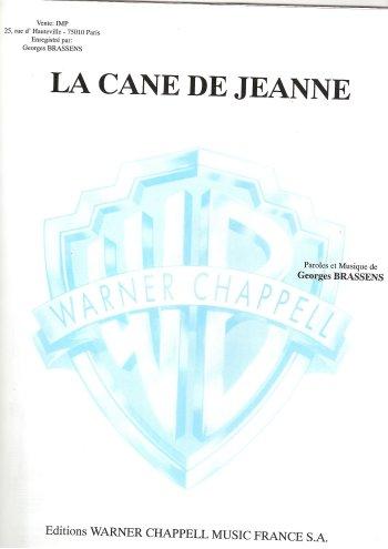 La cane de Jeanne, Warner