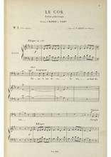 La partition gratuite de Le cor