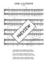 Téléchargez l'arrangement de la partition de Traditionnel-Noel-d-Autriche en PDF à deux voix