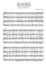 Téléchargez la partition de An Minna en PDF pour 2 voix égales et piano