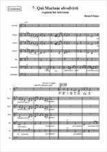 Requiem 07-Qui Mariam absolvisti Partition gratuite