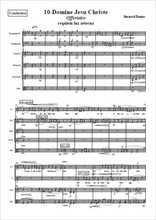 Requiem 10-Offertoire Domine Jesu Christe Partition gratuite