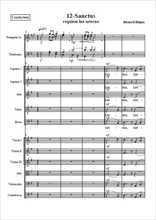 Requiem 12-Sanctus Partition gratuite