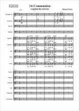 Requiem 14-Communion Partition gratuite