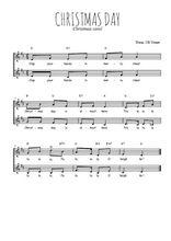 Téléchargez l'arrangement de la partition de Traditionnel-Christmas-day en PDF à deux voix