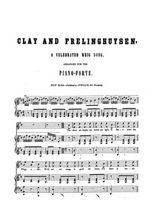 Clay and Frelinghuysen Partition gratuite