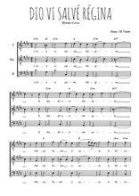 Téléchargez l'arrangement de la partition de Traditionnel-Dio-vi-salve-Regina en PDF pour trois voix d'hommes
