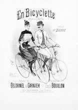 En bicyclette Partition gratuite