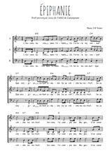 Téléchargez l'arrangement de la partition de Traditionnel-Epiphanie en PDF à trois voix