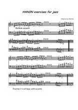 La partition gratuite de Exercises for jazz - Exercices jazz