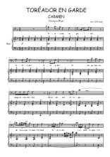 Téléchargez la partition de Carmen, Air du toréador en PDF pour Chant et piano